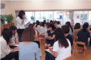 附属幼稚園での教員研修会