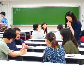 『集団討論に向けての「ウォーミングアップ講座」を開催しました』