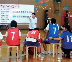 障害児教育コースの様子