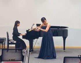 7月29日(水)、本学甲府キャンパス大村記念ホールにおいて、2020年度「第1回水曜イブニングコンサート」が開催されました
