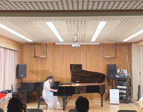11月11日(水)、本学甲府キャンパスL527教室において、2020年度「第3回水曜イブニングコンサート」が開催されました
